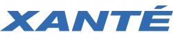 Xante Logo heavy white uv ink