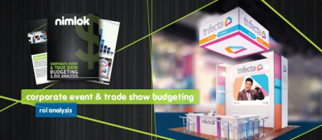 NIMLOK RELEASES ITS NEWEST EDUCATIONAL E-BOOK, CORPORATE EVENT & TRADE SHOW BUDGETING AND ROI ANALYSIS