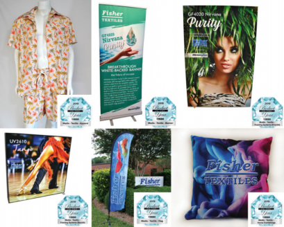 Fisher Textiles Wins Six SGIA 2019 Product of the Year Awards