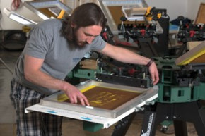 Advance Stamp added screen printing to its mix.