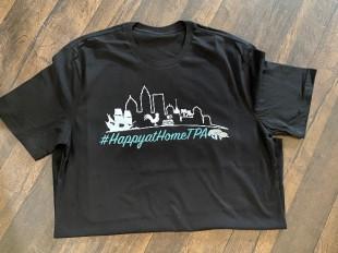 HappyatHomeTPA tee-shirt