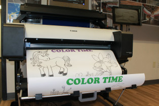 West Allis Blue is using Canon's imagePROGRAF printers to produce educational packets for teachers.