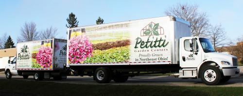 Petitti Garden Center Box Trucks