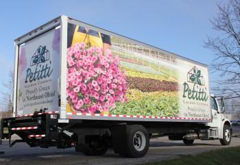 Large Petitti Garden Center Box Truck
