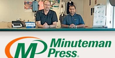 Minuteman Press Greeley Colorado - Norm Kitten and Avi Kumar
