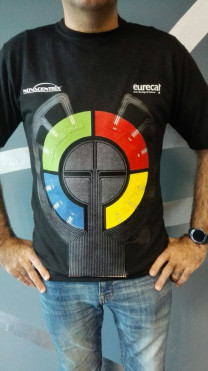 electronic game printed on a t-shirt