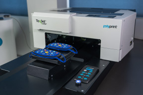 Polyprint 2-IN-1 'Fit & Flat' Snap-On, face mask platen
