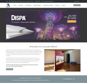 3A Composites redesigned website