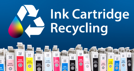 LexJet ink cartridge recycling program.