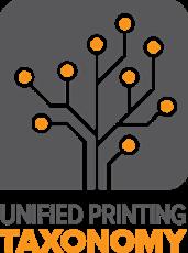 Unified printing taxonomy logo