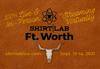 Shirt Lab Ft. Worth registration is now open.