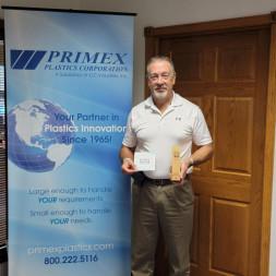 Blake Pace, Primex Plastics