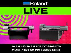 Roland DGA Live Product Launch