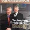 Brothers Tom and Joe Metzger led the printing company that was founded by their father as a typesetter..