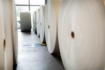 Domestic uncoated paper manufacturers claim imported uncoated paper rolls being sheeted in the U.S. are being dumped by foreign paper mills.