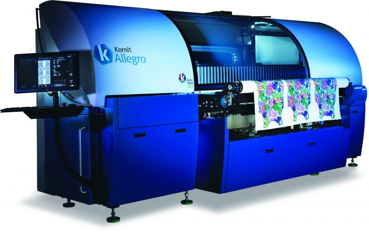 kornit digital allegro digital textile print for e-commerce