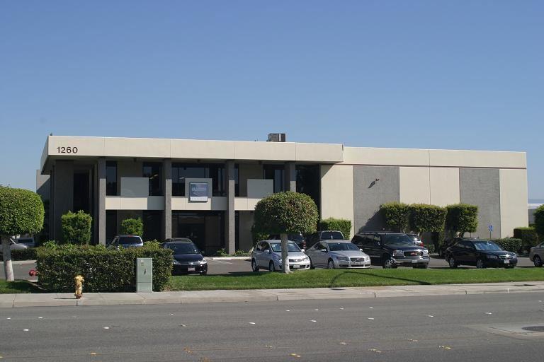 The Alameda building in Anaheim, Calif.