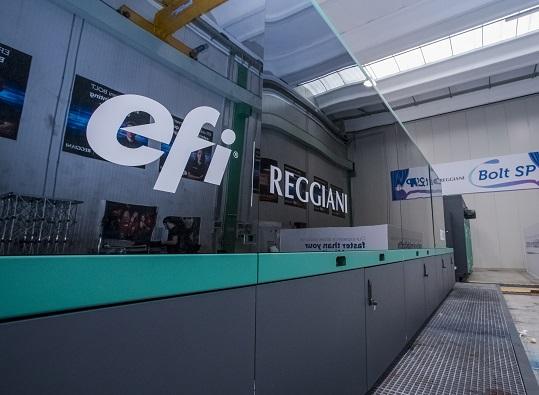 EFI Reggiani BOLT Printer CROP