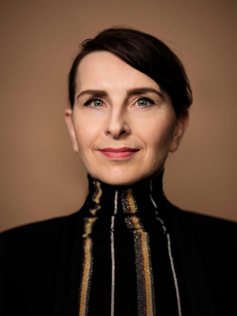 Claire Vos - designer of Mimaki exhibits at Heimtextil