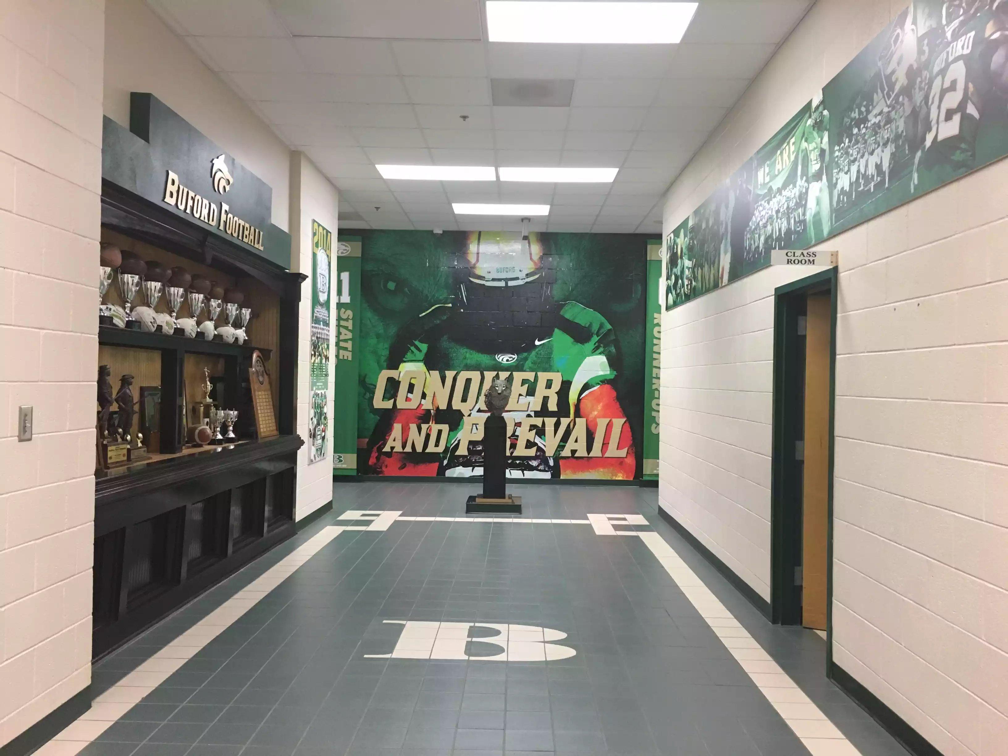 School Wall Wrap