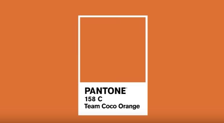 Pantone Team Coco Orange