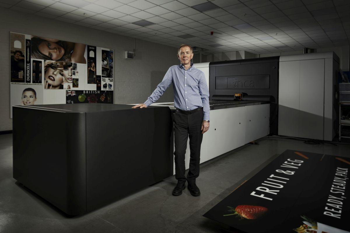 Adrian Edwards Production Director HL Display