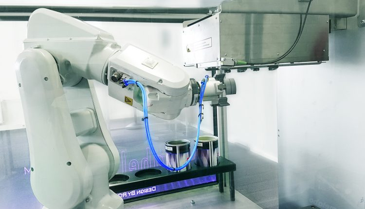 LabelSave Direct to Object Printer, created by Memjet VersaPass and OPM Europa BV robotics