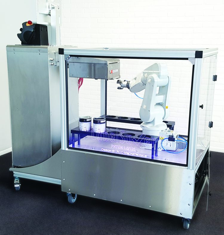 LabelSaver - Direct to Object Printer, created by Memjet VersaPass and OPM Europa BV robotics