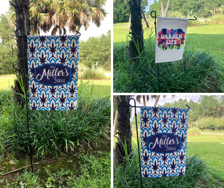 Condé Introduces Sublimatable Poly Linen Garden Flags