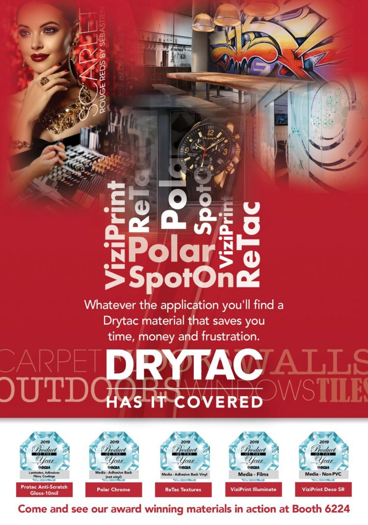Award-winning Drytac to create immersive experience at PRINTING United