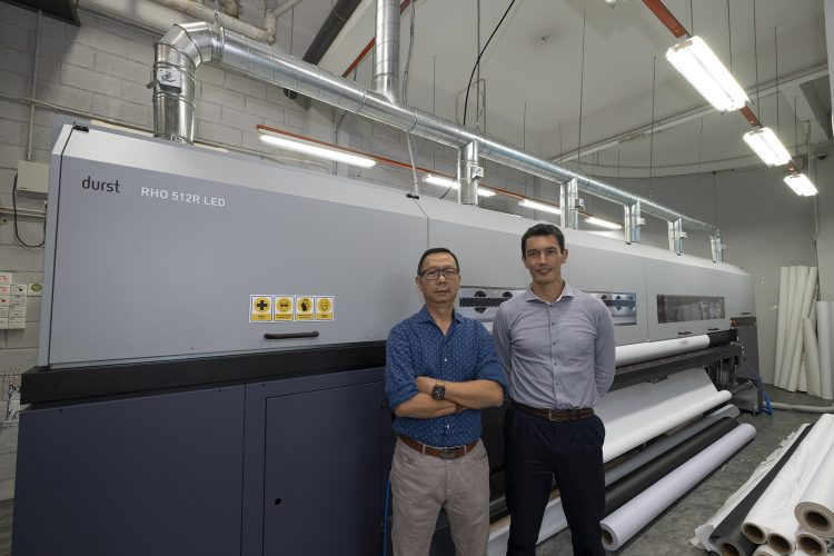 J &A Imaging Station Sdn Bhd is first customer in Asia to invest in Durst Rho 512R LED production printer