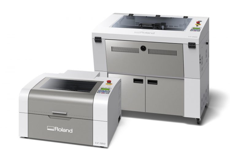 Roland DGA Announces Launch of New LV Series Laser Engraving Machines