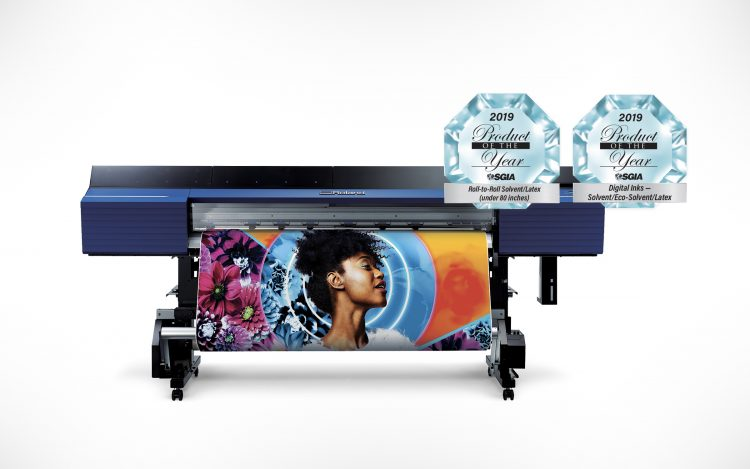 """Roland TrueVIS VG2 and TR2 ink, Roland DGA Wins Three SGIA 2019 """"Product of the Year"""" Awards"""