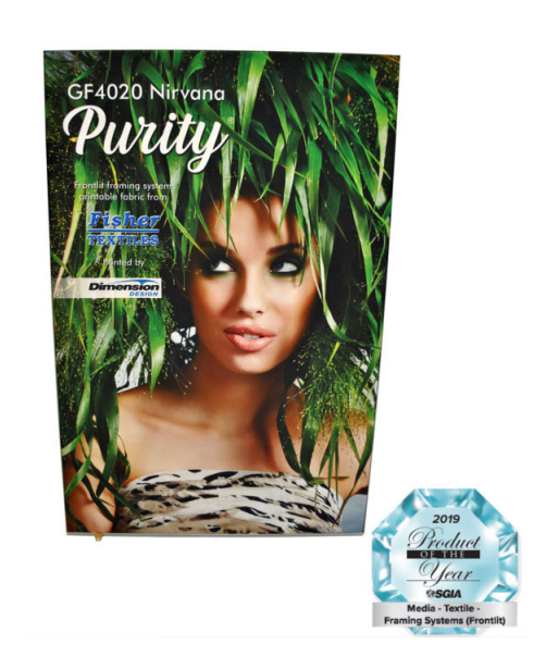 Fisher Textiles Adds Nirvana Purity Soft Signage Fabric to Lineup