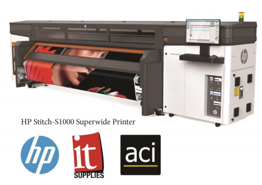 ACI Leads the US Photo Lab Industry with Install of HP Stitch-S1000 Superwide Printer