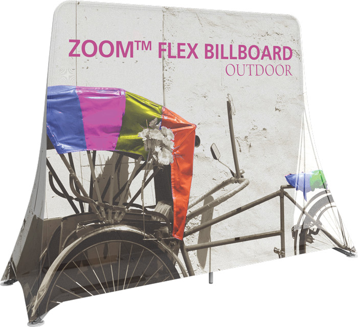 Zoom Flex Billboard, ORBUS INTRODUCES NEW ZOOM™ FLEX BILLBOARD & ZOOM™ FLEX TENT