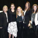 From left, Adrienne Palmer; Elaine Scrima, chairwoman; Tiffany Rader Spitzer; Ariel Swedroe; Kristin Lanzarone-Scribner; Heather Roden; and Michelle White.