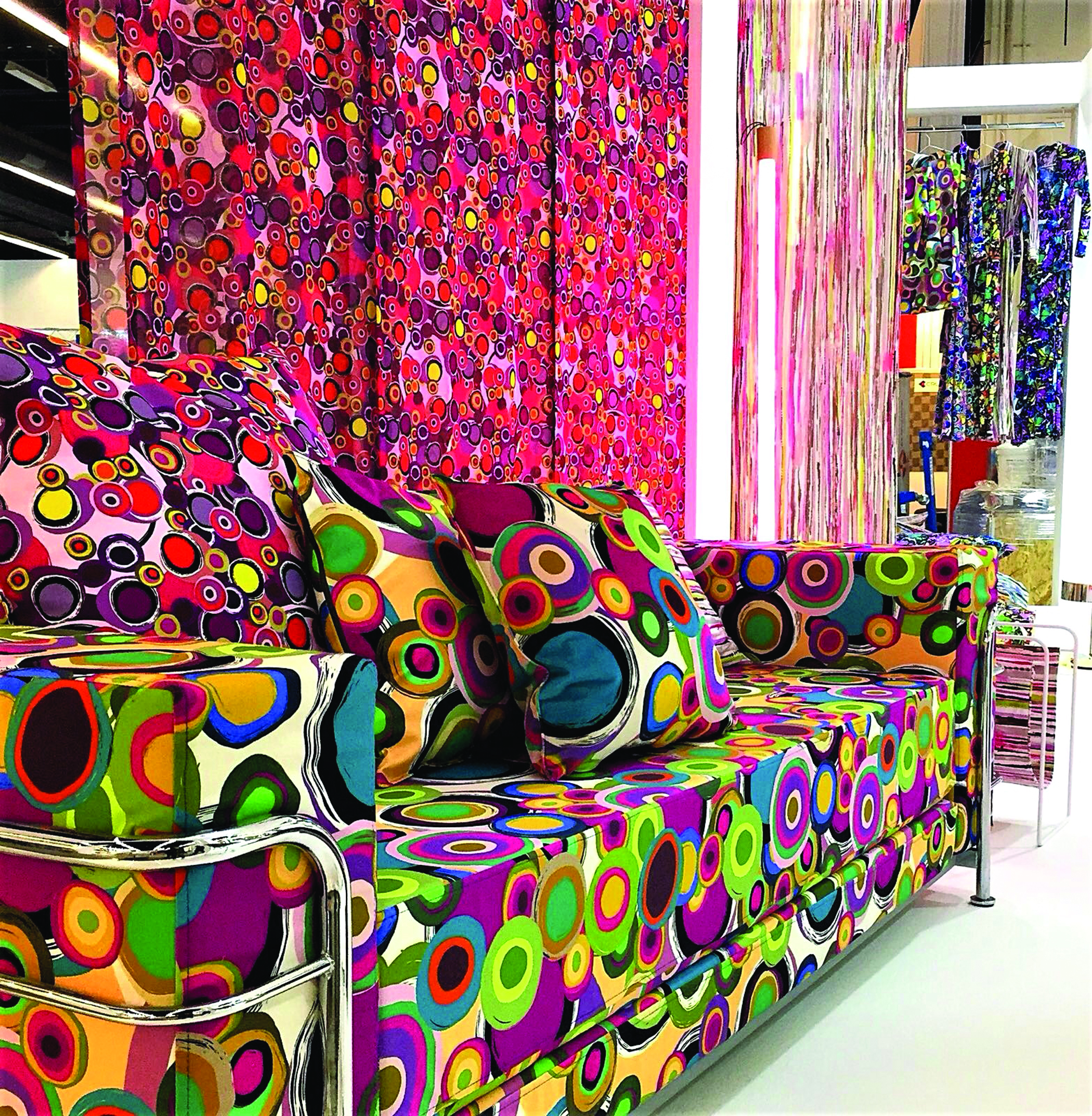 Choose the right inks for digital textile printing.