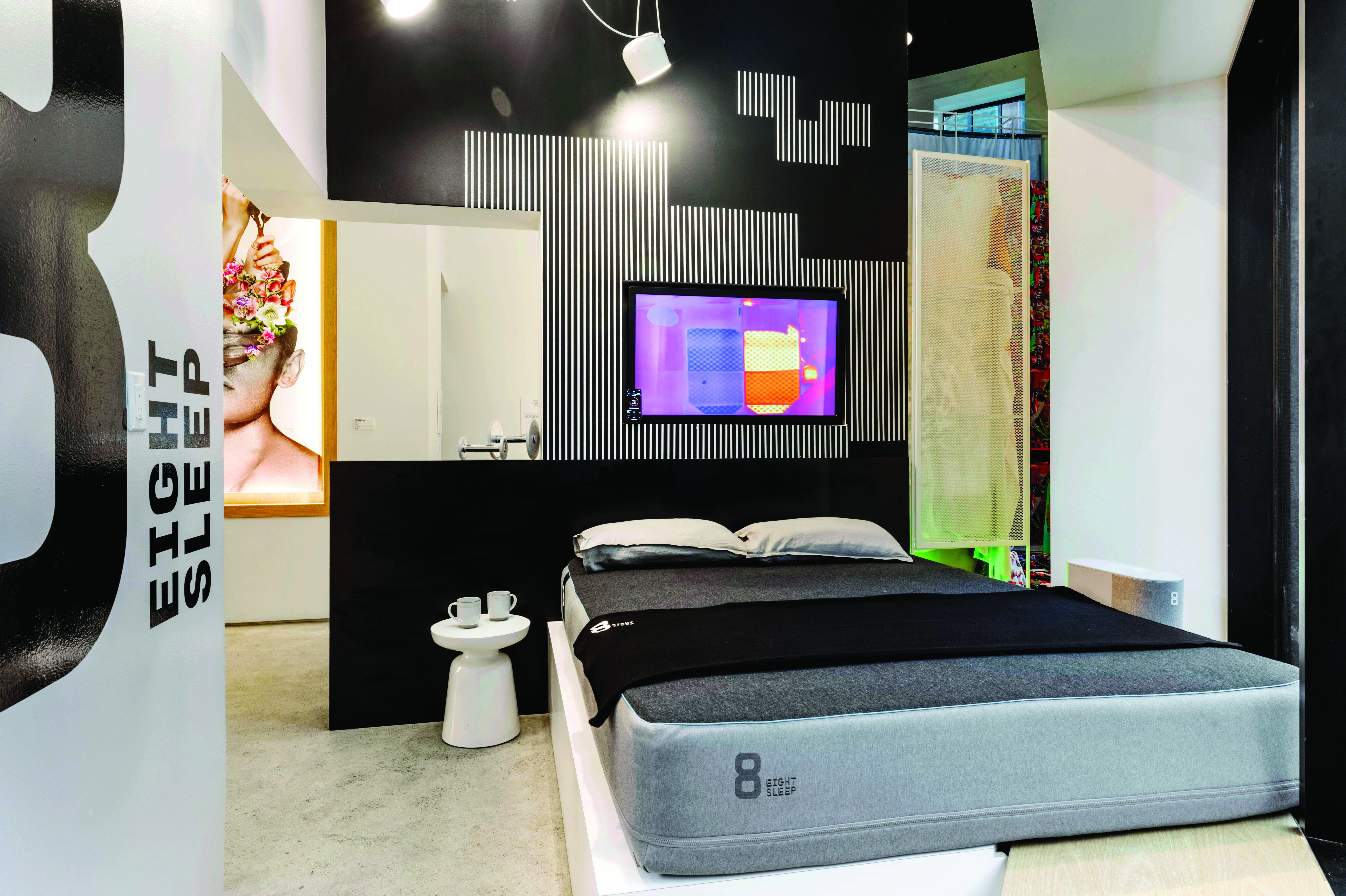 Eight Sleep Bed at Showfields In-Store Experience