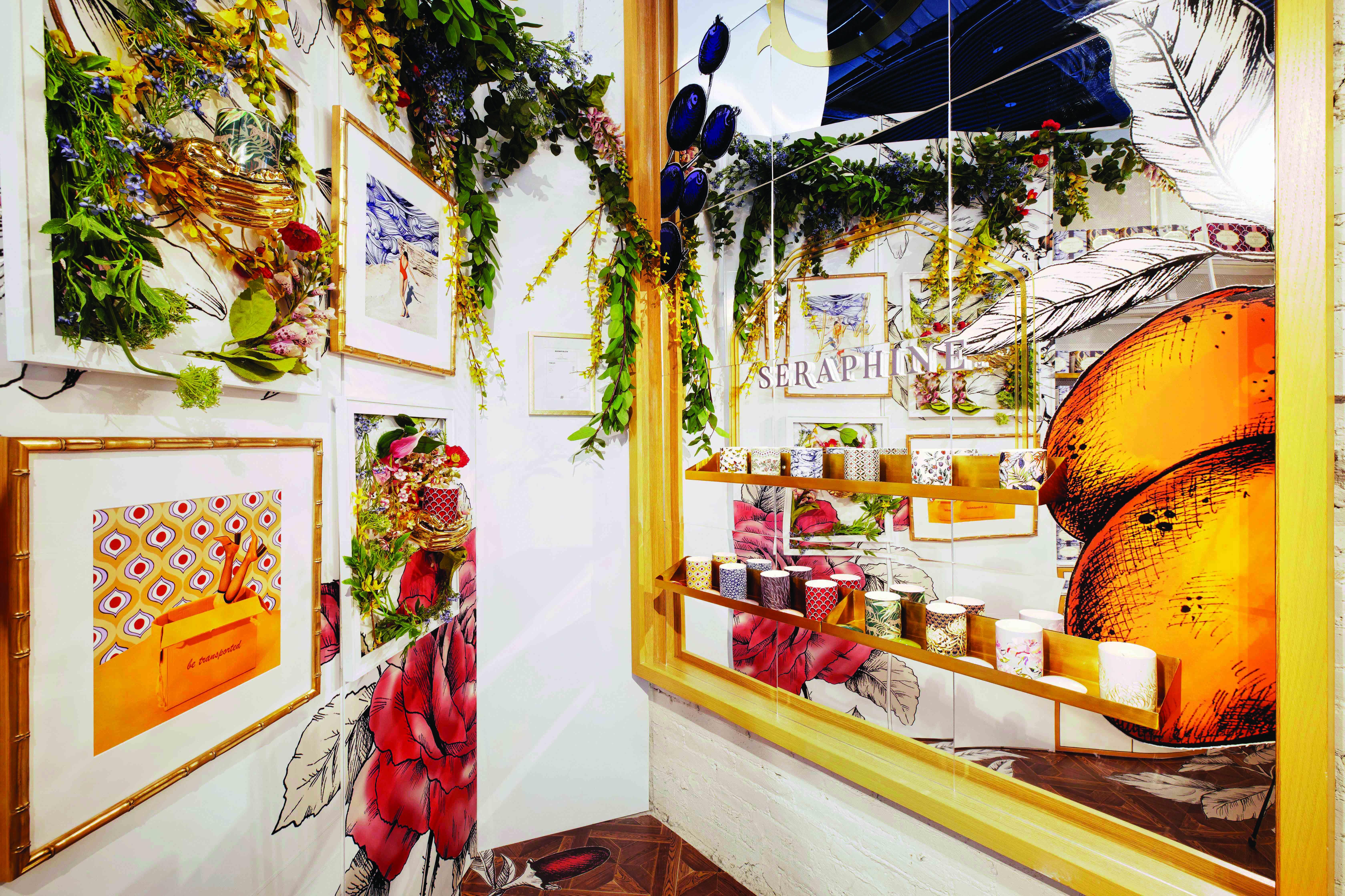 L'or de Seraphine showcase at Showfields