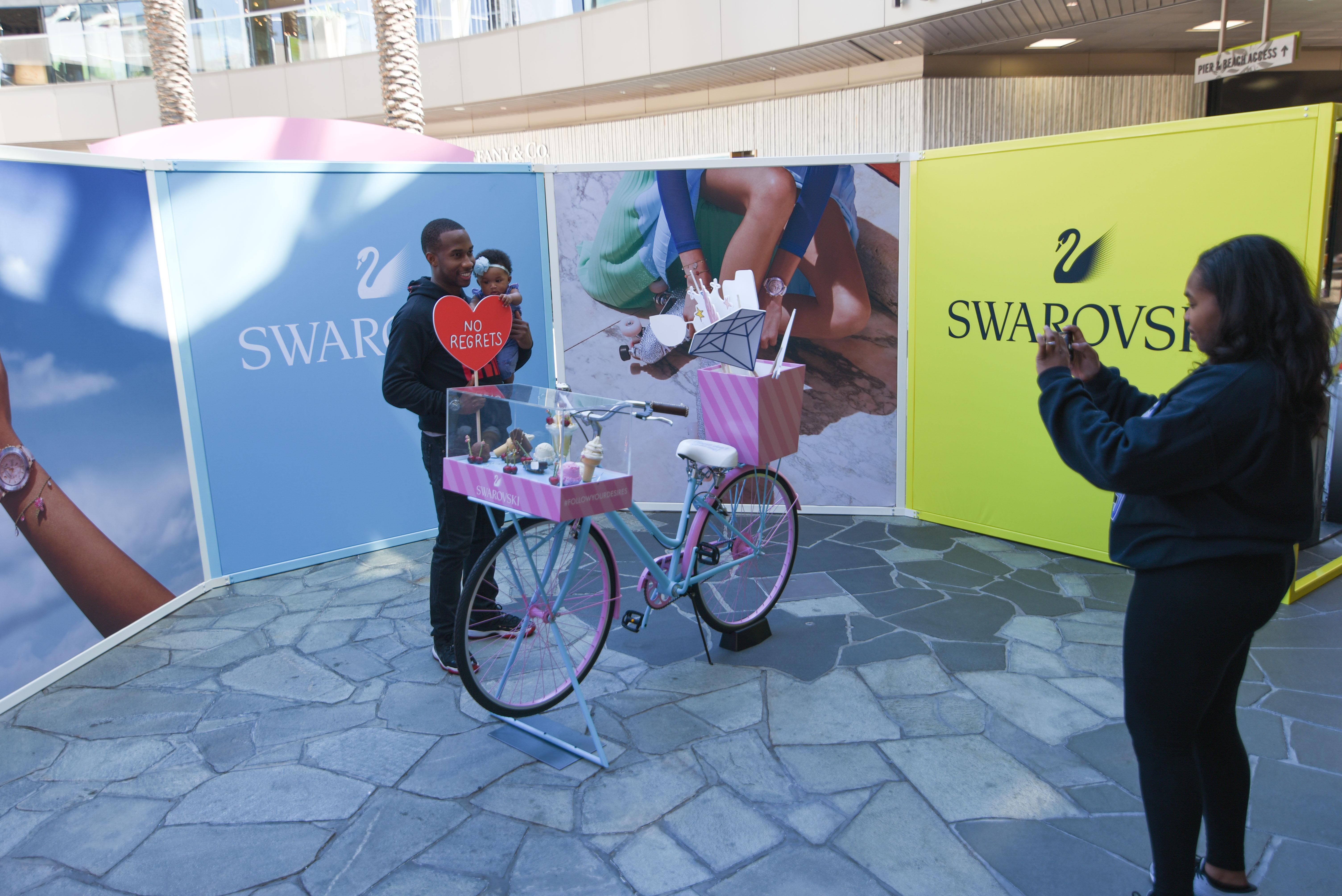 Swarovski pop-up store