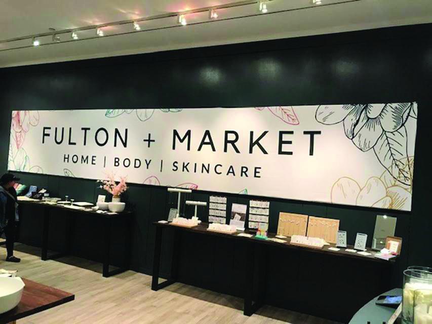 Fulton Market pop-up store