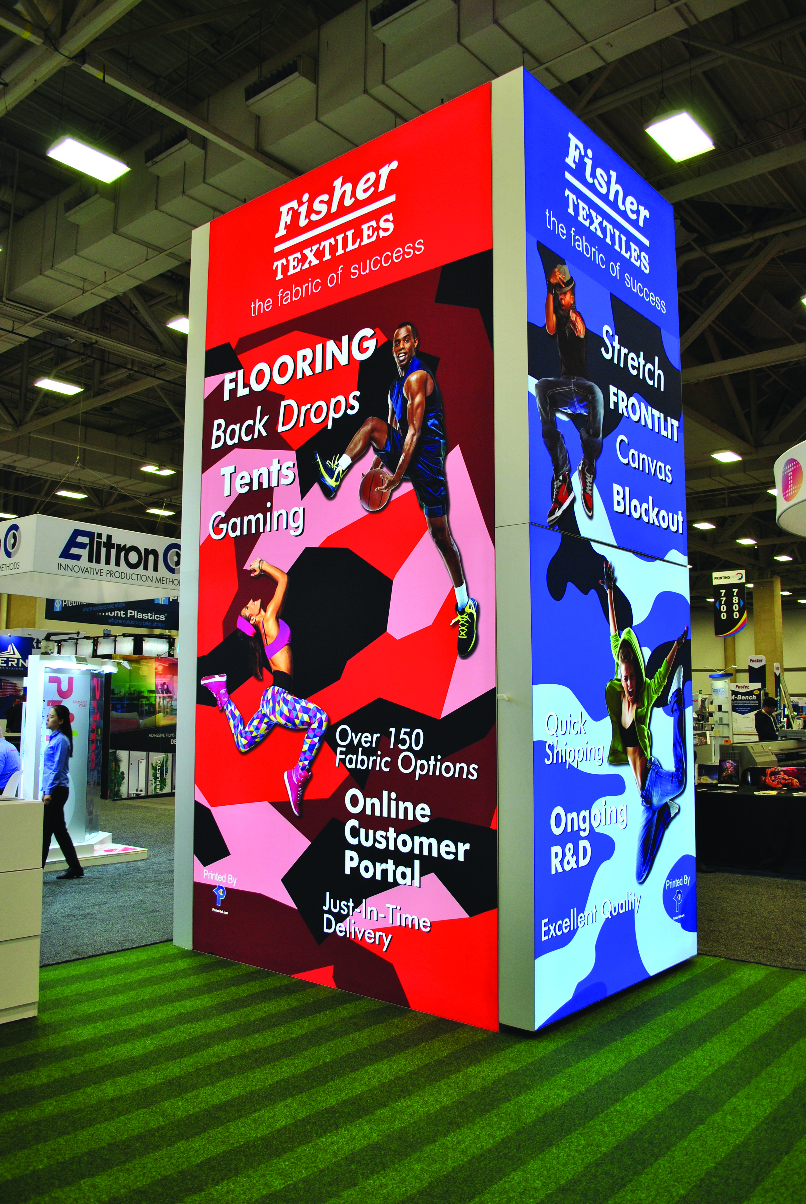 Digital textiles provide an alternative to traditional displays.
