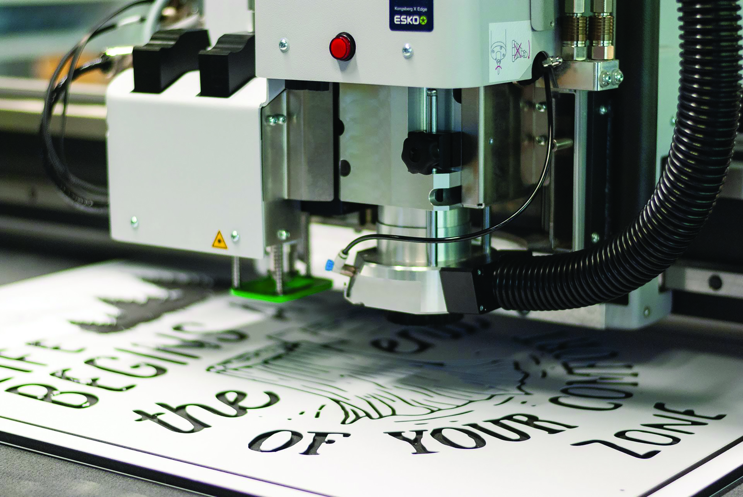 Cutting and routing is shaping wide-format printing.