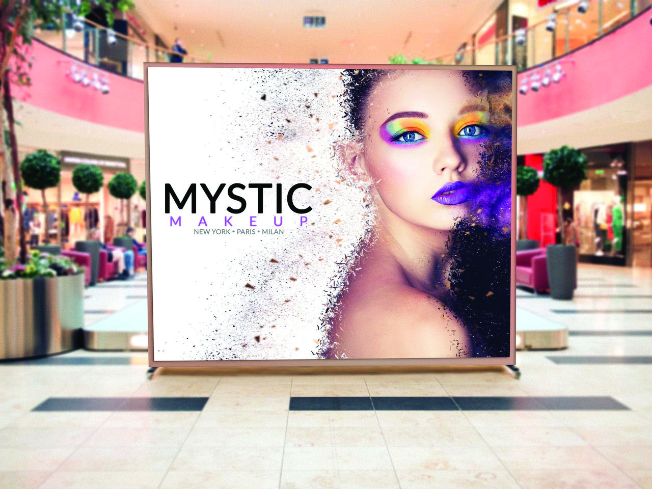 Backlit digital textiles are being used in retail environments.