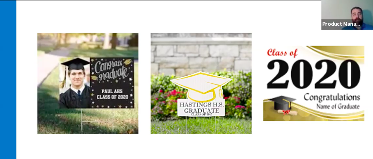 Yard signs are a great product for shops to add.