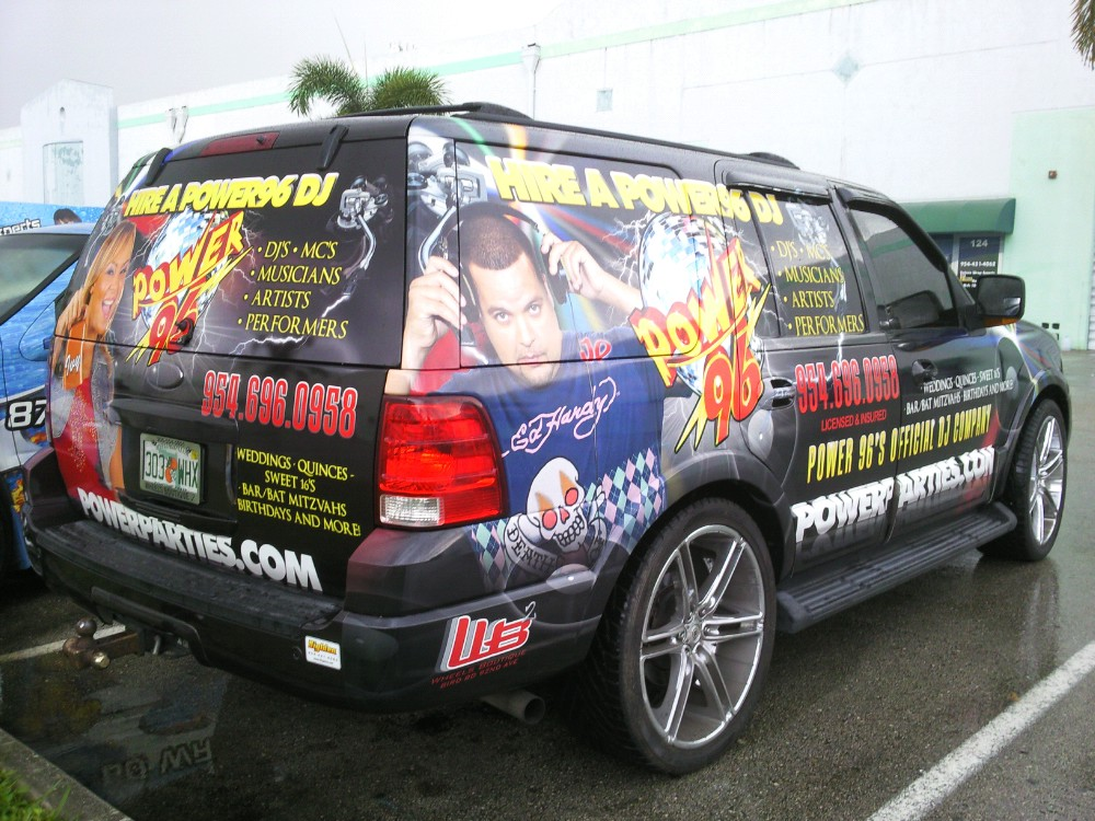 Full vehicle wrap by Axis Graphic Installations