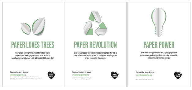 Two Sides North America launched the Love Paper campaign.