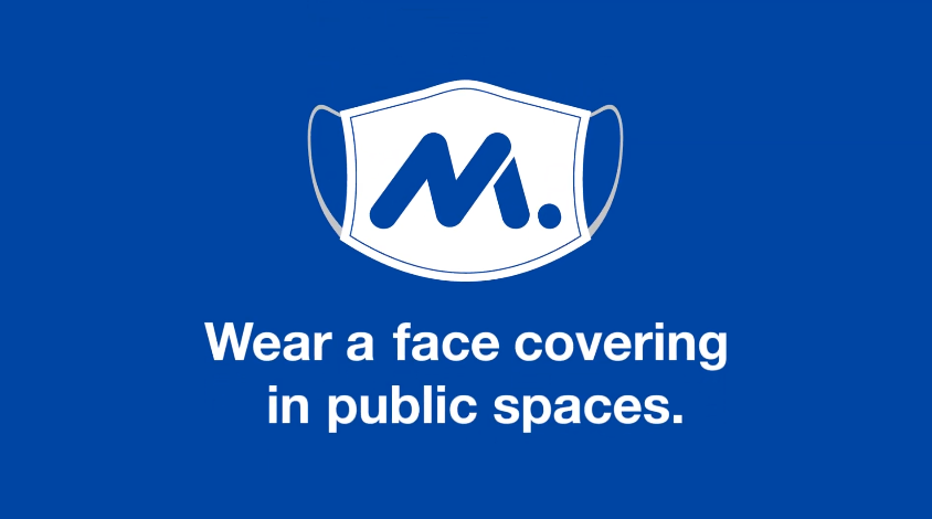 NAM Wear a Face Covering campaign