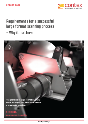 Contex released a report on the requirements for wide-format scanning.